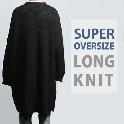 SUPER OVERSIZE LONG KNIT