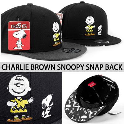 (original item) Charlie Brown & SNOOPY  SNAP BACK