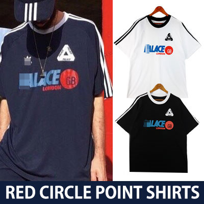 RED CIRCLE POINT SHORT SLEEVE SHIRTS