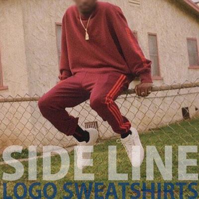 [2017 fw Restock]SIDE LINE LOGO SWEATSHIRTS