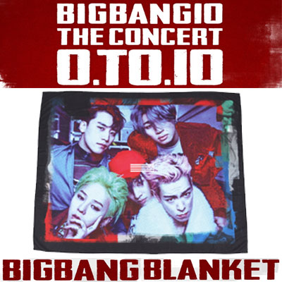 【officail goods】 [0TO10] BIGBANG BLANKET