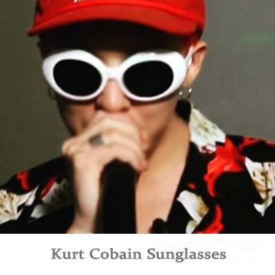 [G-DRAGON FASHION!] KURT COBAIN SUNGLASSES(WHITE,BLACK)