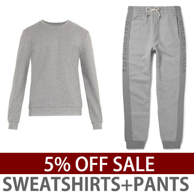 SET5%OFF)LOGO POINT SWEATSHIRTS+PANTS SET