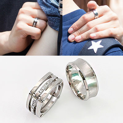 SIMPLE ROUND&CUBIG SQUARE RING