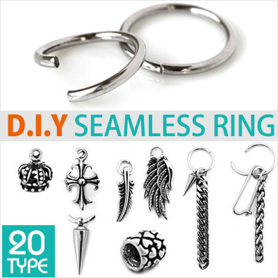 [seamless ring]D.I.Y one touch ring