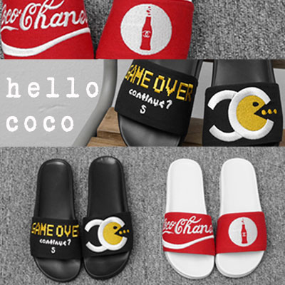 【RANG SHE】[22.5~25.0cm]COCO & GAME OVER SLIPPER