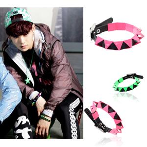 neon Stud the Korean popular idol EXO has favorite