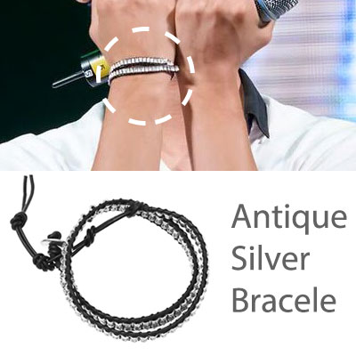 * Korea idle Fashion * VIXX Antique Silver Bracelet bracelet