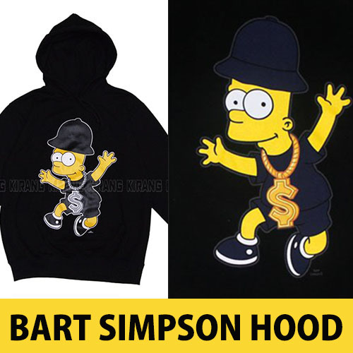 ★DAY SHIPPING★ Street Fashion | Shop popular hip-hop Bart Simpson was a big hit is finally in a parka!