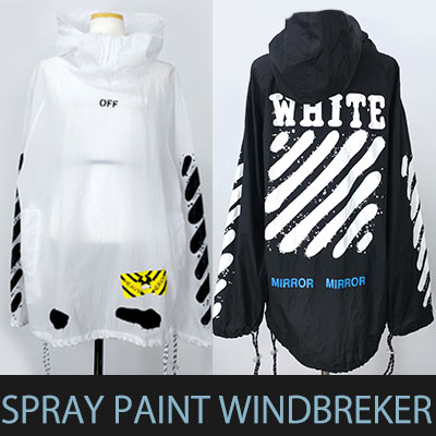 SPRAY PAINT ANORACK WINDBREAKER