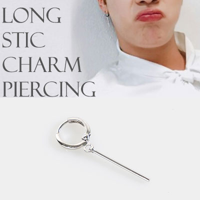 [1EA] BTS JIN ST! LONG STICK CHARM PIERCING/NONPIERCING/EARRING