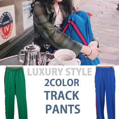 [WOMAN SIZE]BIGBANG GD,SULLI LUXURY st! 2COLOR TRACK PANTS
