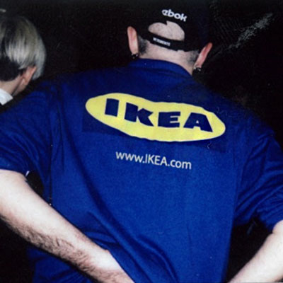 IKEA LOGO POINT SHORT SLEEVE T-SHIRTS