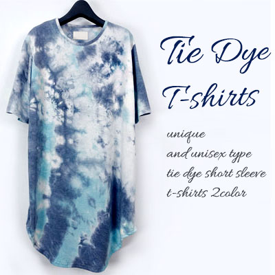 THROAT DYEING SHORT SLEEVE T-SHIRTS