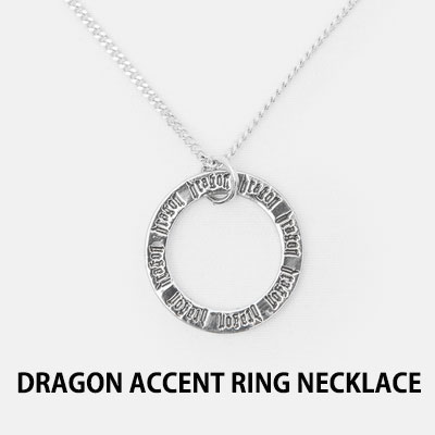 [8SECONDS]/2017 SS 8 X GD's PICK (正規品)Dragon Accent Ring Necklace G-Dragon GD COLLABORATION