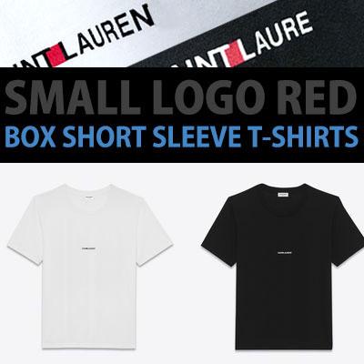 WINNER st!SMALL LOGO RED BOX SHORT SLEEVE T-SHIRTS