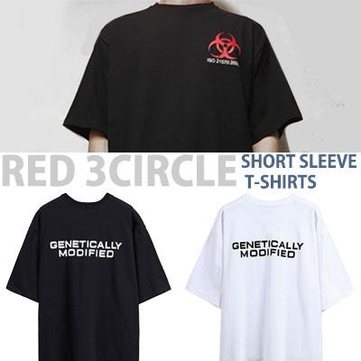 RED 3CIRCLE SHORT SLEEVE T-SHIRTS
