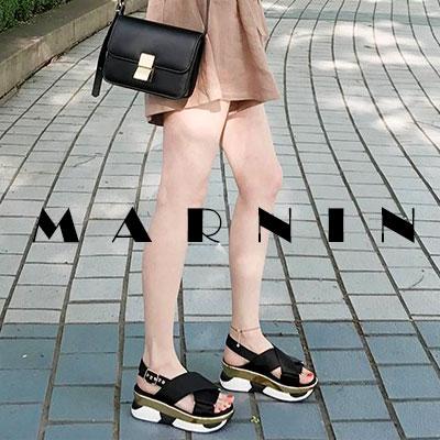 【RANG SHE】INSOLE POINT MARNIN SANDAL