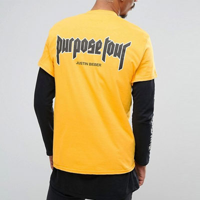 [GILDAN original body]PURPOSE BACK LOGO SHORT SLEEVE T-SHIRTS