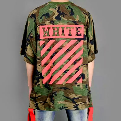 RED TAPE POINT OVERSIZE CAMO SHORT SLEEVE T-SHIRTS