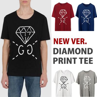 k-pop idol NCT st.DIAMOND PRINT SHORTSLEEVE T-SHIRTS new ver. 5color