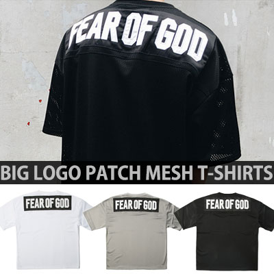 LOGO PANNEL PATCH MESH T-SHIRTS