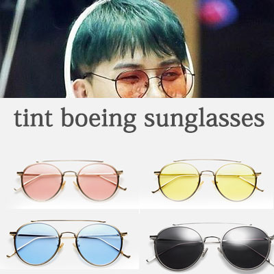 WINNER MINO STYLE! Tint Boeing Sunglasses / 4 Color