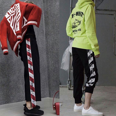 SIDE LINE LOGO TAPE JOGGER PANTS