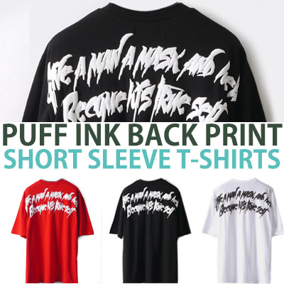PUFF INK BACK PRINT SHORT SLEEVE T-SHIRTS