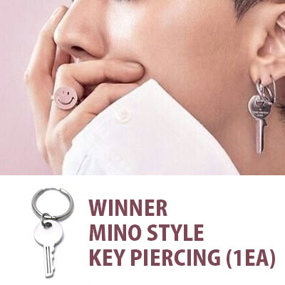 WINNER MINO STYLE!/key drop segment ring piercing/1EA