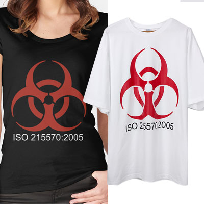 oversize/BIOHAZARD SHORT SLEEVE T-SHIRTS
