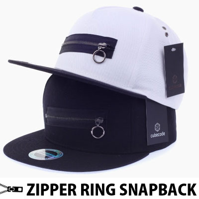 ZIPPER RING SNAPBACK