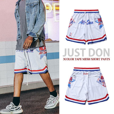 Jerry Lorenzo st. JUST DON 3COOR TAPE MESH SHORT PANTS