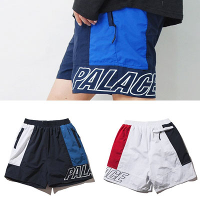 2COLOR BLOCK SWIM HALF PANTS