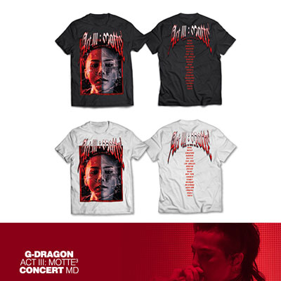 【Official Goods】[MOTTE] G-DRAGON T-SHIRTS TYPE 5