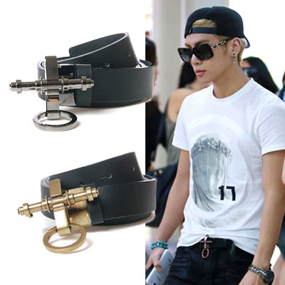 Idle fashion mail order | SHINEE Jonghyun, Beast Giku~an, Moderui-Suhyoku STYLE Gvc st.obsedi @ leather belt (2Color)