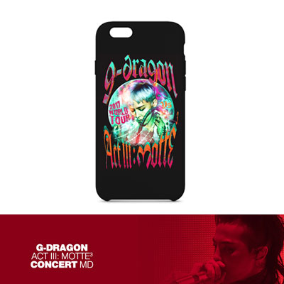 【Official Goods】[MOTTE]  G-DRAGON PHONECASE_TYPE 2