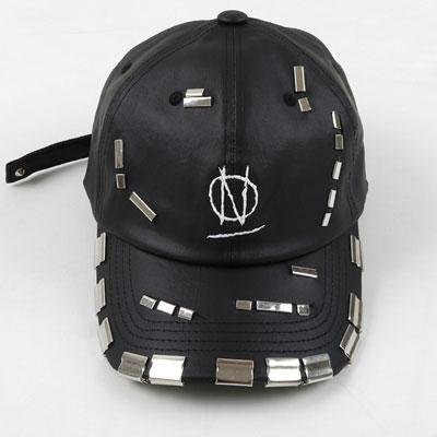 limited)MULTI METAL CLIP BLACK BALL CAP