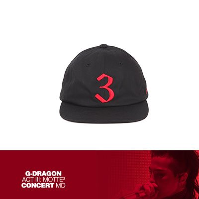 【Official Goods】[MOTTE] G-DRAGON BALLCAP_TYPE 2