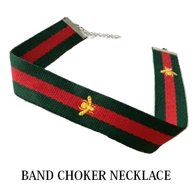 BAND CHOKER NECKLACE
