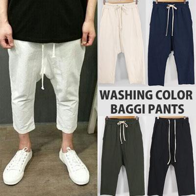 WASHING COLOR BAGGI PANTS