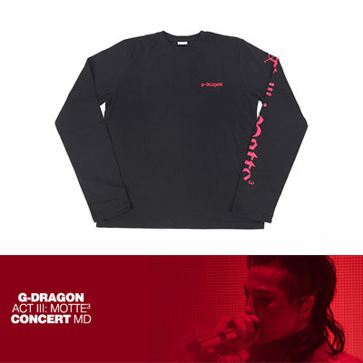 【Official Goods】[MOTTE] G-DRAGON LONG SLEEVE T-SHIRTS_TYPE 1