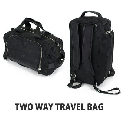 2 WAY STAR TRAVEL BAG(BOSTON/BACKPACK)