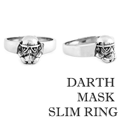 DARTH MASK SLIM RING