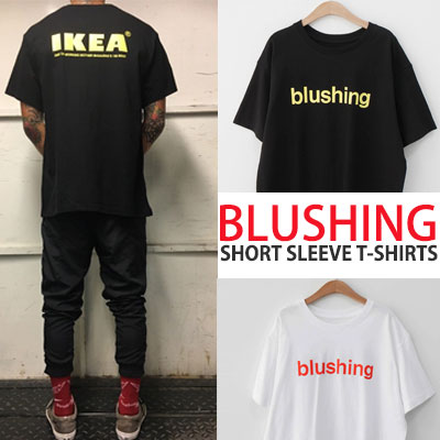BLUSHING SHORT SLEEVE T-SHIRTS
