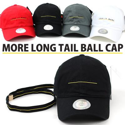 MORE LONG TAIL BALL CAP