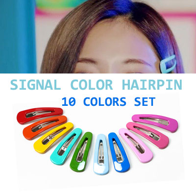TWICE STYLE! SIGNAL COLOR HAIRPIN SET(10COLORS)