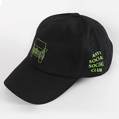GREEN CAR PRINT BALLCAP