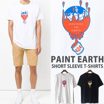PAINT EARTH SHORT SLEEVE T-SHIRTS