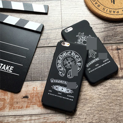 CROSS&HORSESHOE BLACK i-PHONE CASE(6/6+/7/7+)